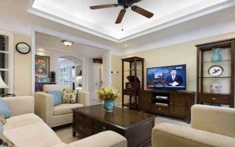 7万预算120平米三室两厅装修效果图