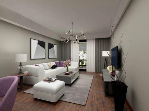 北欧风格90平米公寓新房装修效果图
