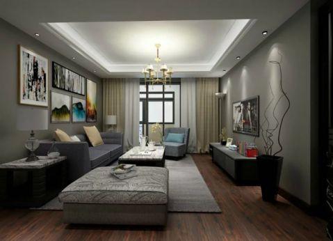 13万预算140平米公寓装修效果图
