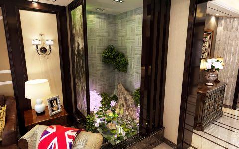 客厅米色背景墙现代简约风格效果图