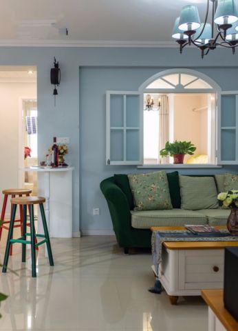 客厅吧台地中海风格装饰图片