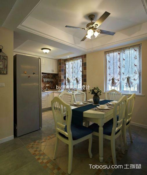 厨房白色吊顶混搭风格效果图