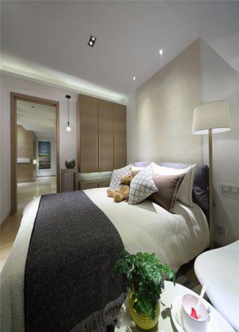 卧室床现代简约风格装修效果图