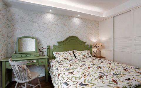卧室梳妆台美式风格装潢效果图