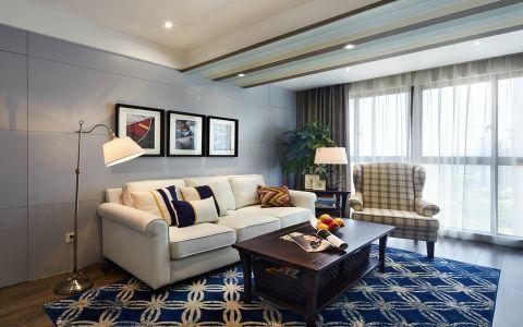 5.92万预算120平米三室两厅装修效果图