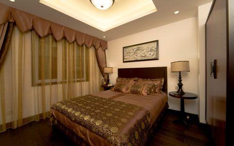 卧室床新中式风格装修设计图片