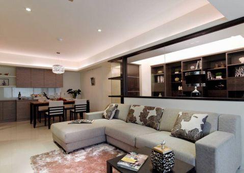 9.2万预算120平米三室两厅装修效果图