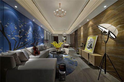 5万预算80平米两室两厅装修效果图