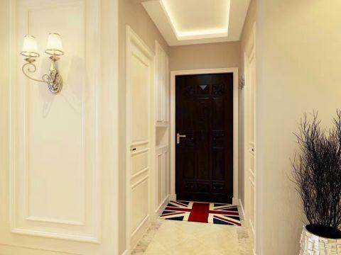 玄关米色吊顶现代风格装饰设计图片