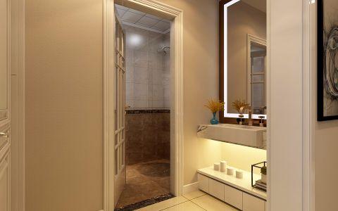 卫生间洗漱台现代简约风格装潢图片