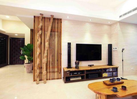 7万预算100平米一居室装修效果图