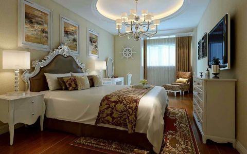 卧室梳妆台简欧风格装修图片