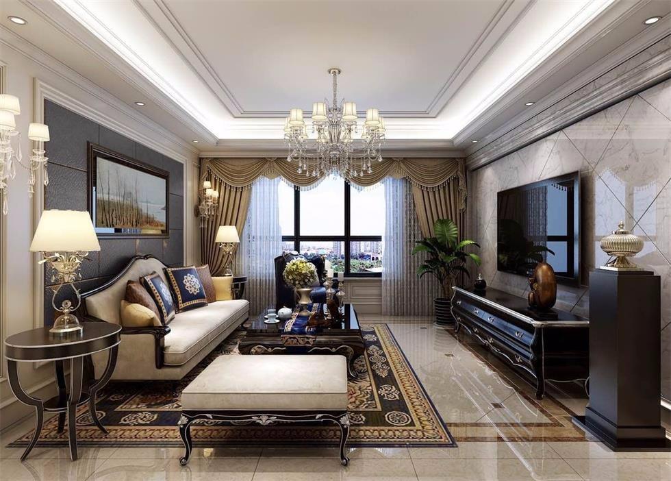 4室2卫2厅现代欧式风格
