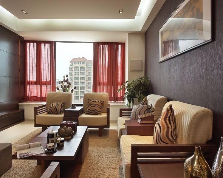3室2卫2厅143平米中式风格