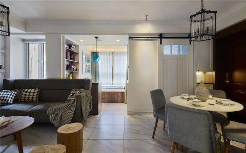 6.2万预算100平米两室两厅装修效果图