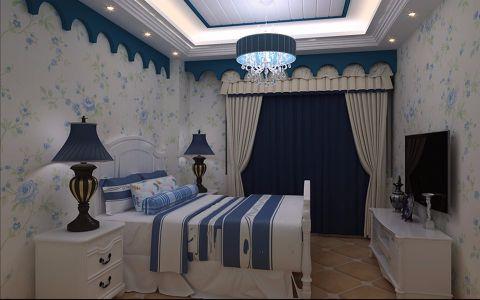 卧室吊顶地中海风格装潢效果图