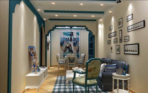6.5万预算100平米两室两厅装修效果图