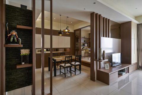 9万预算120平米三室两厅装修效果图