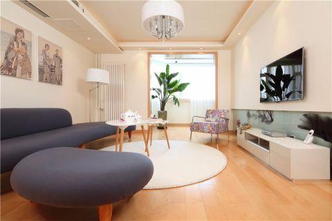 9.3万预算120平米两室两厅装修效果图