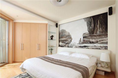 卧室书架现代简约风格装修效果图