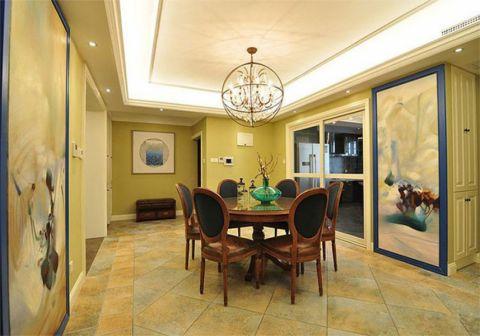 6.8万预算100平米两室两厅装修效果图