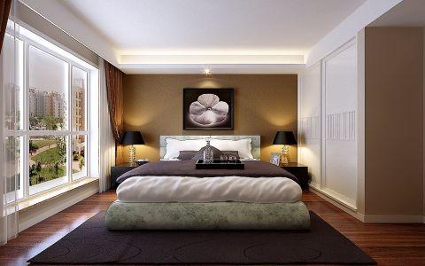 卧室落地窗现代简约风格效果图