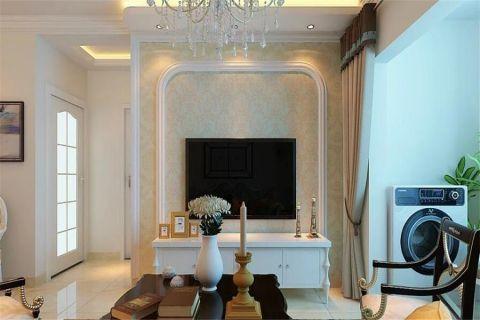 7.2万预算100平米两室两厅装修效果图