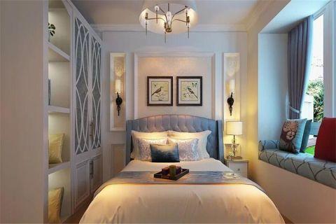 卧室飘窗简欧风格装饰图片