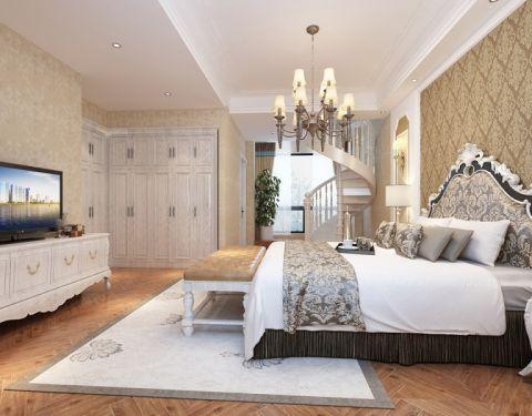 卧室吊顶欧式风格装饰图片