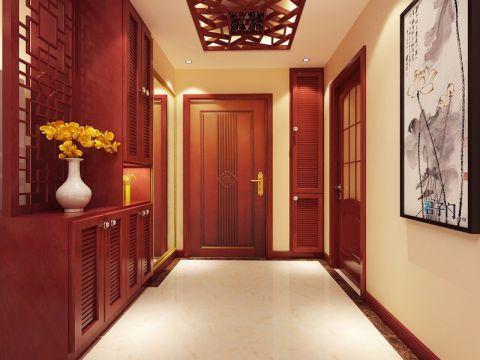 玄关吊顶新中式风格装潢图片