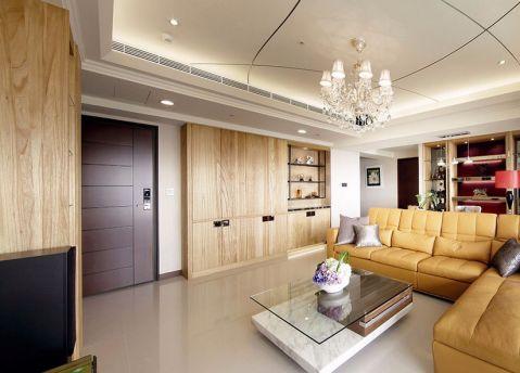 欧式风格142平米三房两厅新房装修效果图