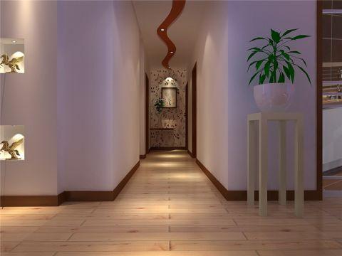 玄关背景墙现代简约风格装修效果图