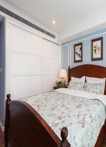 美式风格85平米两房两厅新房装修效果图