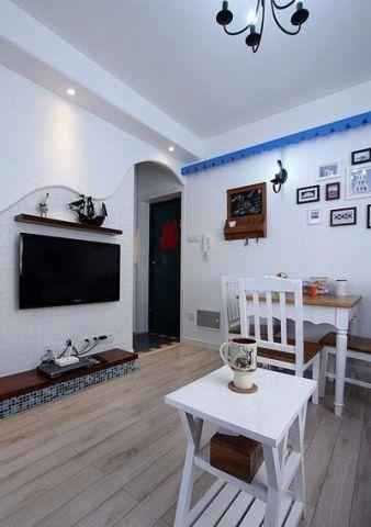地中海风格93平米小户型室内装修效果图
