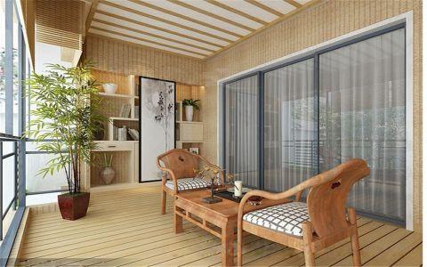阳台推拉门现代风格装修设计图片