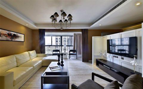 现代简约风格150平米4房2厅房子装饰效果图