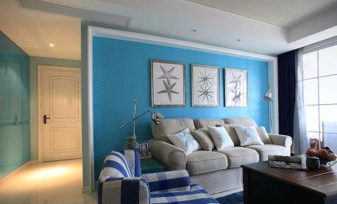 现代简约风格100平米两房两厅新房装修效果图