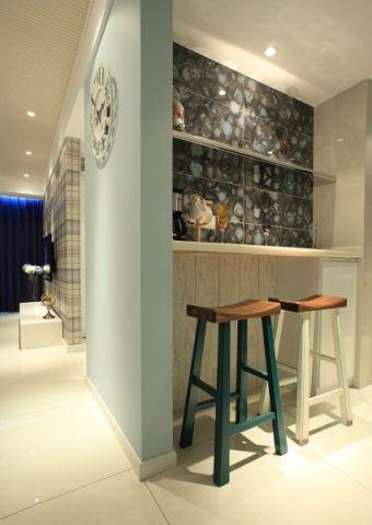 餐厅吧台现代简约风格装修效果图