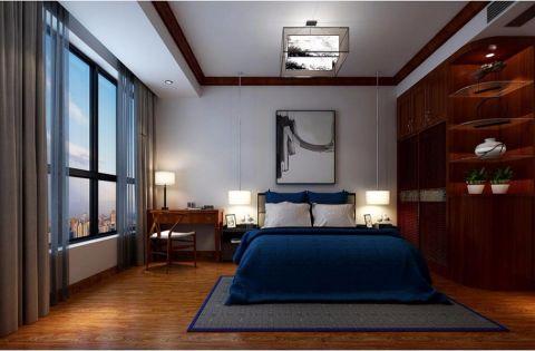卧室吊顶中式风格装饰图片