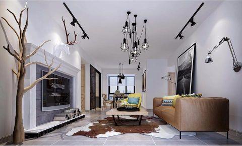 北欧风格134平米4房2厅房子装饰效果图