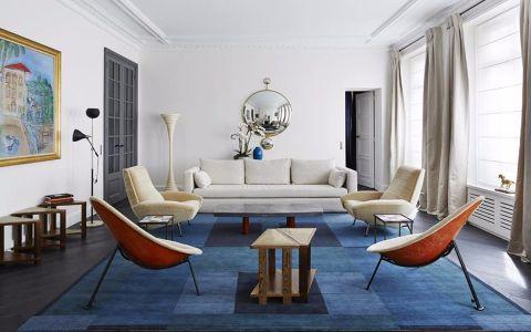 金地格林郡现代风格三居室装修效果图