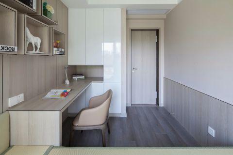 现代简约风格116平米三室两厅室内装修效果图