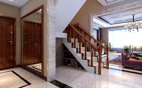 玄关吊顶现代简约风格效果图