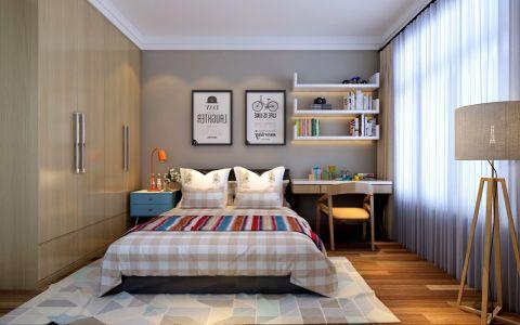 卧室吊顶北欧风格装潢图片