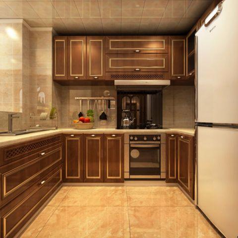 厨房背景墙欧式风格装修效果图