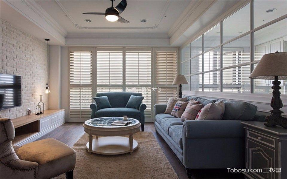 简约风格84平米两室两厅室内装修效果图