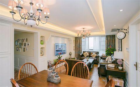 南丽湾乡村美式两居室效果图