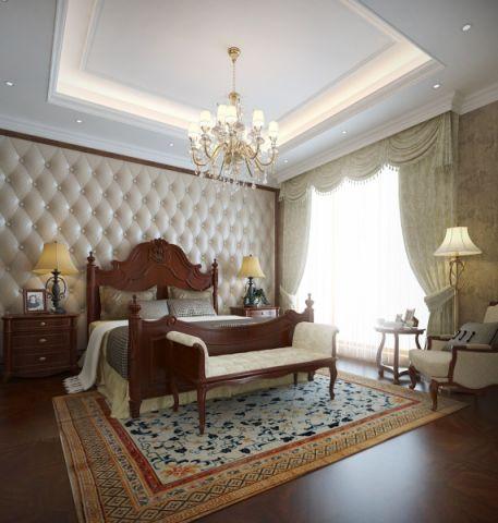 新古典风格340平米别墅室内装修效果图
