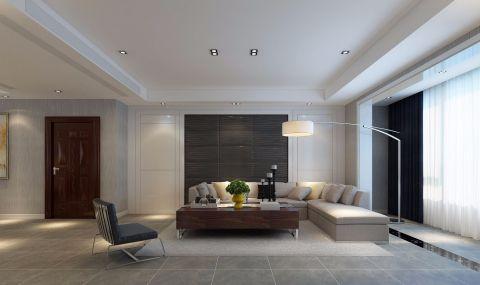 现代简约风格272平米4房2厅房子装饰效果图