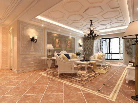 欧式风格178平米3房2厅房子装饰效果图